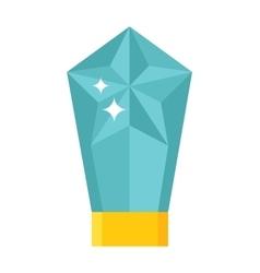 Magic crystal vector