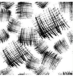 Monochrome stroke blocks seamless pattern vector