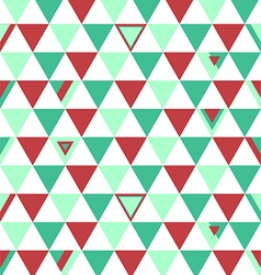 Russia Top Colors Background Triangle Polygon vector image vector image