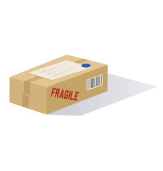 Cartoon mailed package vector