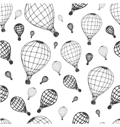 Pattern air ballon vector