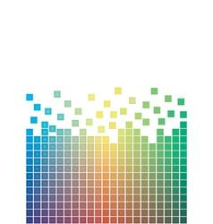 Falling pixels vector
