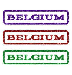 Belgium watermark stamp vector