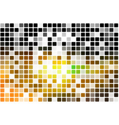 black brown yellow green occasional opacity vector image vector image