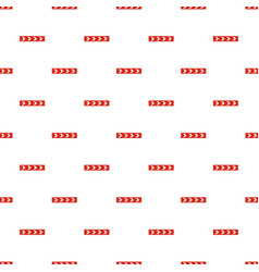 Detour on the right side pattern seamless vector