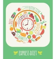 Express diet vector