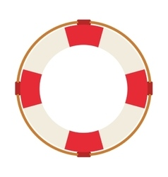lifeguard float isolated icon design vector image
