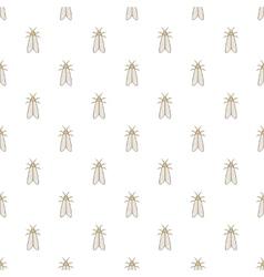 Moth pattern cartoon style vector