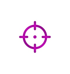 Sight device icon vector