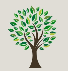 Smart Tree vector image vector image