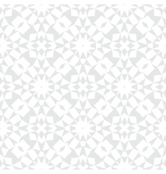 White silver geometric texture in art deco style vector