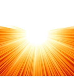 Sunburst rays of sunlight tenplate EPS 8 vector image