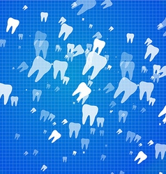 Dental health background vector