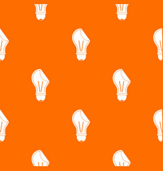 bulb sticker pattern seamless vector image vector image