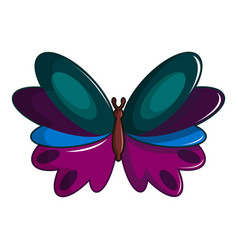Butterfly demophoon icon cartoon style vector