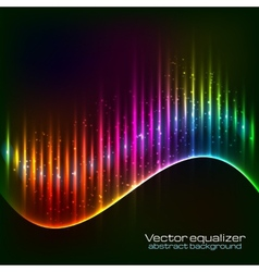 Neon equalizer wave vector
