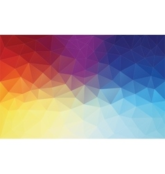 Vertical abstract 2d geometric colorful background vector