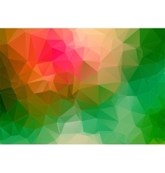Triangle 2d geometric colorful background vector
