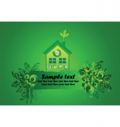 environmental building vector image