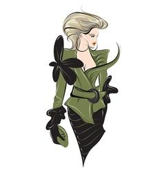 Fashion silhouette vector