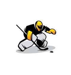 Hockey sign vector