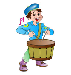 Little drummer boy vector
