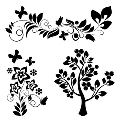 Ornamental design elements - vector image vector image