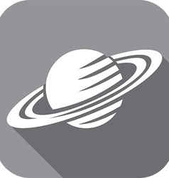 Planet Icon vector image vector image
