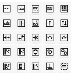 Wallpaper Symbols vector image
