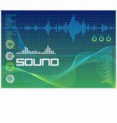 sound lab vector image