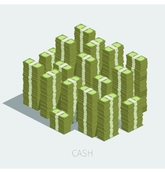 Concept of big money vector
