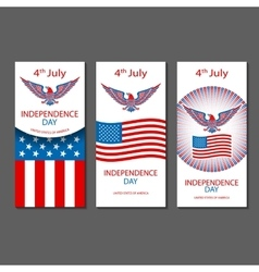 4th july independence day and for presidential vector