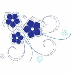 cvetu zimnie vector image vector image