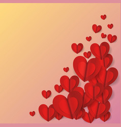 graphic love vector image vector image