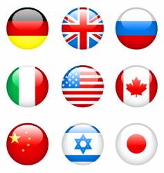 International flags vector