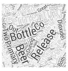 Leaving your beer alone to become great word cloud vector