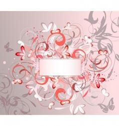ornamental frame vector image