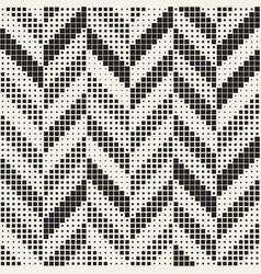 Seamless irregular geometric pattern abstract vector