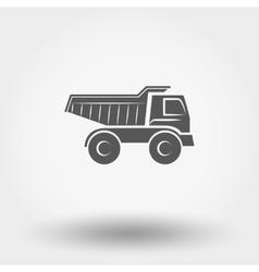 Truck toy vector