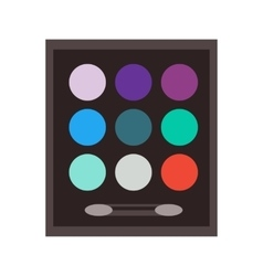 set make up beauty fashion cosmetic icons vector image