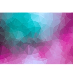 Tial pink 2d geometric colorful background vector