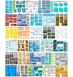 Website Design Template jumbo collection vector image