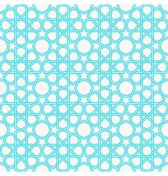 Arabesque Islam Geometric pattern seamless vector image
