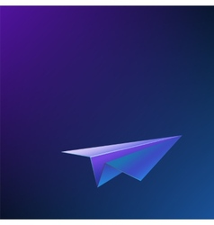 Abstract background with airplane vector image