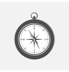 Compass design element vector