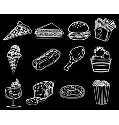 Different foods vector
