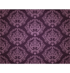 Seamless wallpaper pattern dark vector