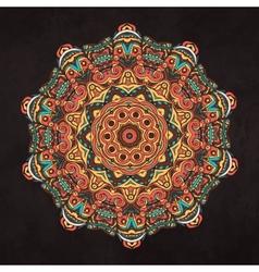 Mandala Card 2 vector image