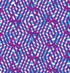 Geometric messy lined seamless pattern colorful vector