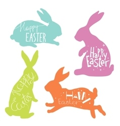 Easter hand drawn design elements vector